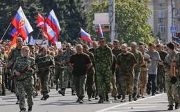 Phe ly khai diễu binh ăn mừng chiến thắng tại quảng trường Lenin