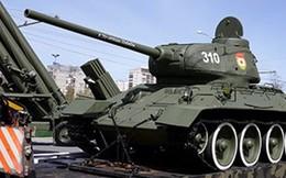 Nga chặn việc xuất khẩu xe tăng T-34 sang Kazakhstan