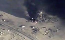 [VIDEO] Nga không kích dữ dội đoàn xe chở dầu của IS
