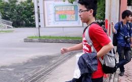 Hy hữu: Học sinh Hà Nội tá hỏa gọi bố mẹ mang quần đến phòng thi