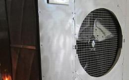 Hà Nội: Thích thú với sáng chế chống nóng siêu độc của chủ quán game