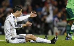 Ronaldo không còn đáng sợ trên chấm đá phạt