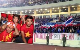 Thua trên sân, Việt Nam bại luôn cả ở khán đài