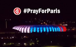 """Thế giới """"đổi màu"""" tưởng niệm nạn nhân khủng bố ở Pháp"""