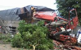 Hình ảnh đáng sợ của vụ tai nạn vừa xảy ở Nghệ An