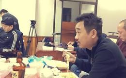 Quốc Khánh ăn mì tôm lấy sức tập Táo quân 2015