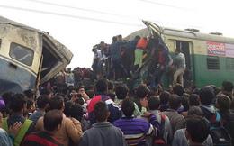 Tàu hỏa Ấn Độ đâm nhau, hơn 100 người thương vong