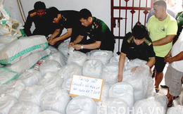 Gần 100 trinh sát hóa trang, phá đường dây 5,5 tấn ma túy