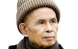 Thiền sư Thích Nhất Hạnh đã có thể uống trà và phát âm bập bẹ