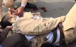 """Đội CSGT có 4 thương binh vì bị """"lao thẳng xe vào người"""""""