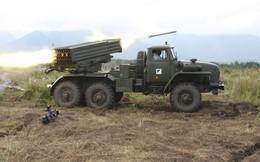 """Quân đội Nga nhận 20 tổ hợp pháo phản lực """"Cuồng phong"""" Tornado-G"""