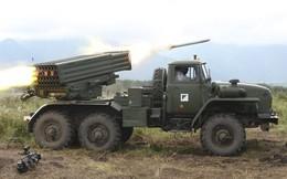 """Nga """"khoe"""" công lực hệ thống rocket đa nòng mới"""