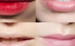 Tuyệt chiêu hô biến đôi môi thâm sì thành hồng hào trong tích tắc