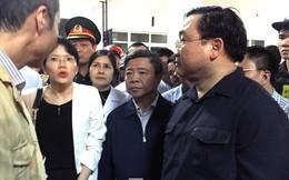 Phó Thủ tướng nghiêm khắc phê bình nhà thầu vụ sập giàn giáo
