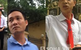 """Hà Nội: Khách hàng """"bùng"""" tiền taxi gây ùn tắc giao thông"""