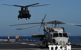 Nhật-Mỹ tiếp tục tập trận chung trên biển nhằm kiềm chế Trung Quốc