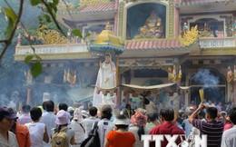 Hàng chục nghìn người dân dự lễ khai mạc hội xuân núi Bà Đen