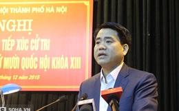 Ông Nguyễn Đức Chung trực tiếp ghi nhận, lắng nghe dân khiếu nại