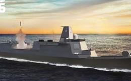 Mục đích TQ chế tạo tàu khu trục mạnh ngang tuần dương hạm