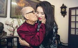 GS Vũ Khiêu thơm má Kỳ Duyên: Nụ hôn rất bình thường