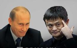 """Tỉ phú TQ Jack Ma khen Putin """"hấp dẫn"""" và """"dũng cảm"""""""