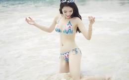 Hoa hậu Kỳ Duyên khoe vóc dáng nuột nà với bikini