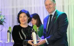 CEO Vinamilk nhận giải thưởng New Zealand ASEAN