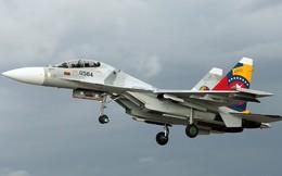 Tiêm kích Su-30 của Venezuela rơi gần biên giới Colombia
