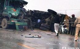 Cảnh tượng kinh hoàng sau tai nạn trên Quốc lộ