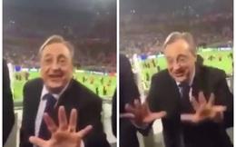 """Chỉ một hành động nhỏ, Chủ tịch Real khiến người Barca """"cứng họng"""""""