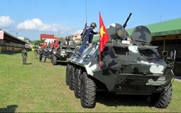 Tổng cục Kỹ thuật nghiệm thu sửa chữa xe tăng thiết giáp tại Lữ đoàn 147 Hải quân