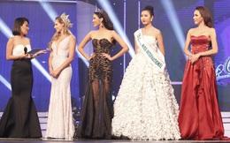 Á hậu danh giá nhất Việt Nam bị đọc sai tên, danh hiệu trên VTV