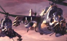 """Trực thăng tấn công Super Hind Mk III - """"Cá sấu Nga"""" đến từ châu Phi"""
