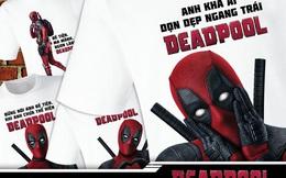 """""""Anh khả ái"""" Deadpool tặng áo phông miễn phí cho khán giả"""