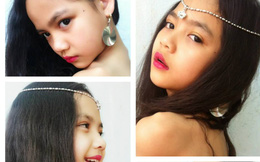 'Bản sao nhí' của Phan Như Thảo ăn mặc táo bạo, tạo dáng gợi cảm