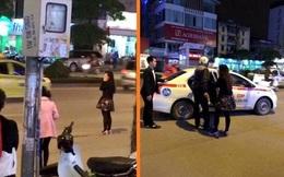 Cầm guốc đánh bạn trai chảy máu đầu giữa phố Hà Nội