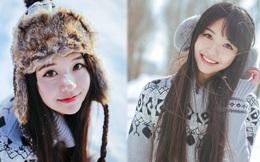 Thiếu nữ bỗng nổi tiếng nhờ chụp ảnh vào ngày tuyết rơi