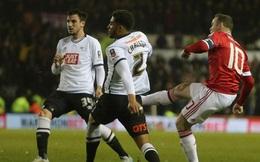 Rooney lại ghi bàn, Man United thắng thuyết phục Derby County
