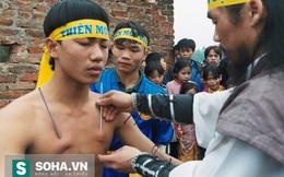 Vén màn môn võ Việt chạy trên mặt nước, đóng đinh lên người