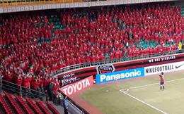 Ngả mũ trước màn ăn mừng cực chuyên nghiệp của CĐV Hàn Quốc