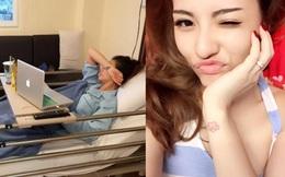 Hồng Quế bất ngờ đăng ảnh siêu âm thai nhi