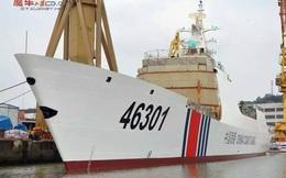 [ẢNH] Trung Quốc lộ tàu hải cảnh giống tàu chiến Type 054A