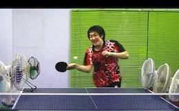 """Kinh ngạc với khả năng chơi bóng bàn của """"dị nhân"""" Nhật Bản"""