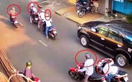 Bị đâm dao găm ở cổ, người đàn ông vẫn truy đuổi, bắt tên cướp