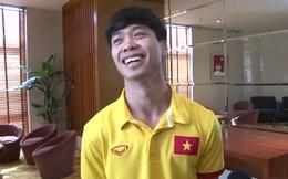 """Công Phượng chỉ biết cười khổ khi được hỏi về biệt danh """"Messi Việt Nam"""""""