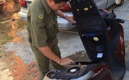 Trộm bỏ xe SH của tướng về hưu vì xe không nổ máy