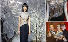 Tranh cãi quanh chiếc váy mặc cũng như không của Phương Mai