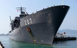 Tàu quân sự Singapore cập Cảng quốc tế Cam Ranh