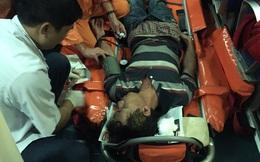 Cứu ngư dân bị thương nặng trên biển