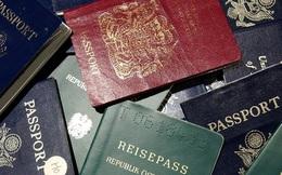 """""""Bí mật"""" màu xanh, đỏ, đen của hộ chiếu các nước"""